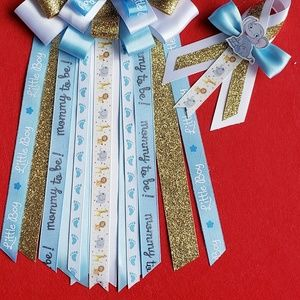 Other - Dumbo baby shower corsage set for mommy and dad